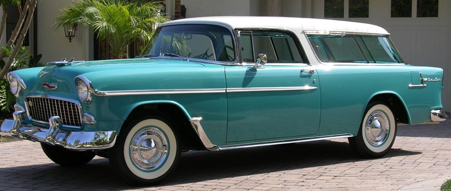 Miami Used Chevrolet >> The 1955 Chevy Nomad Revisited | Chevy Dealership