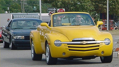 The Chevrolet Ssr Was A True Fusion Vehicle It Car And Truck Sports Utility Both Vintage Modern