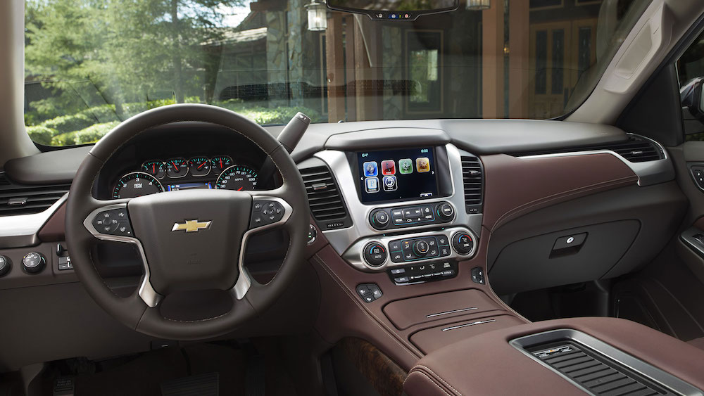 2016 Chevy Tahoe Interior Leather Will be Available in Cocoa and ...