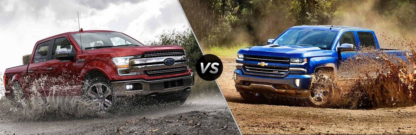 2018 Ford Vs Chevy Trucks Miami Lakes Automall