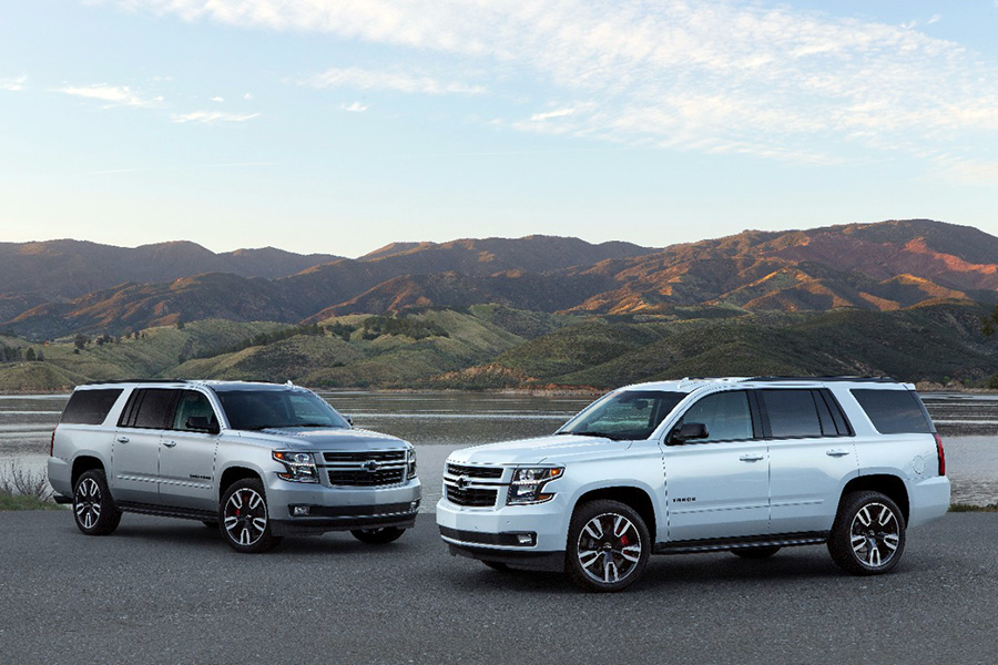 The Performance Package is available as an upgrade to the Tahoe