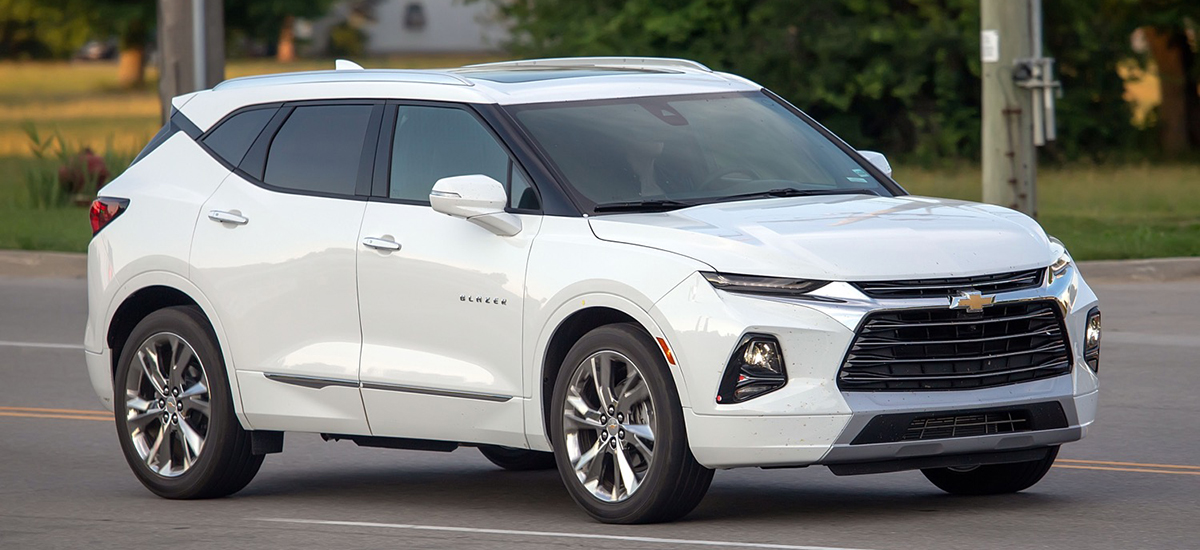 New 2019 Chevrolet Blazer Has Impressive Debut Miami Lakes