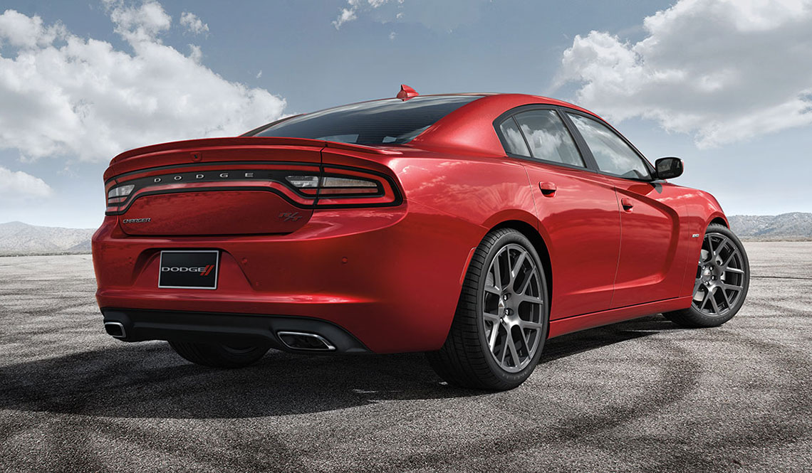 Dodge Charger wins ALG Residual Value