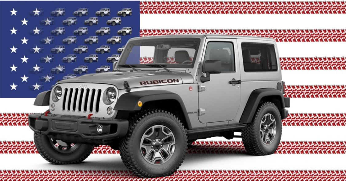 jeep wrangler and cherokee top cars com s american made index