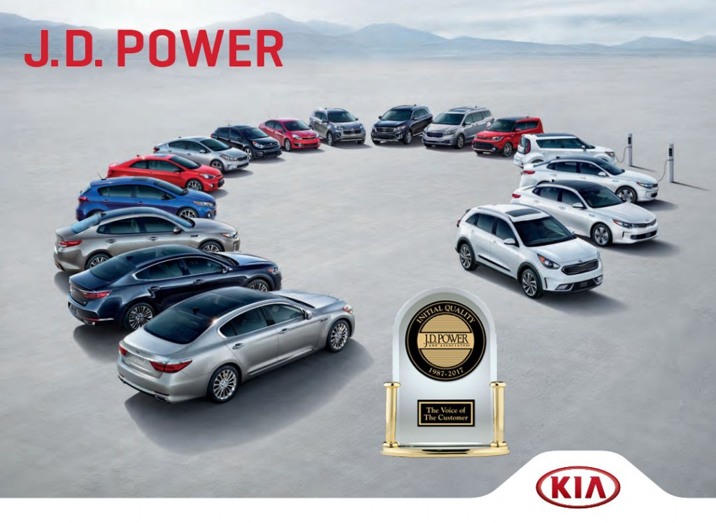 Miami Lakes JD Power Initial Quality Kia