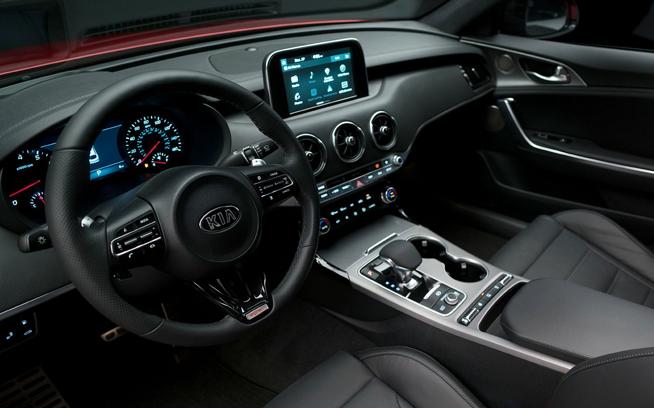 2018 Kia Stinger Wins 10 Best Interiors Trophy From Wardsauto