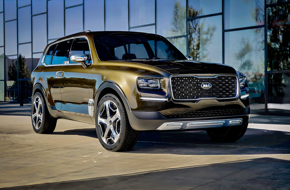 Spy Shots And Updates For The Kia Telluride