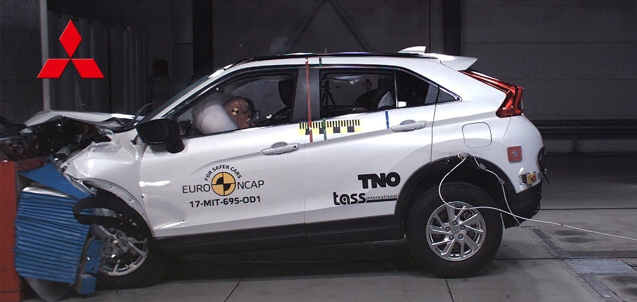 Mitsubishi Eclipse Cross Receives High Safety Ratings