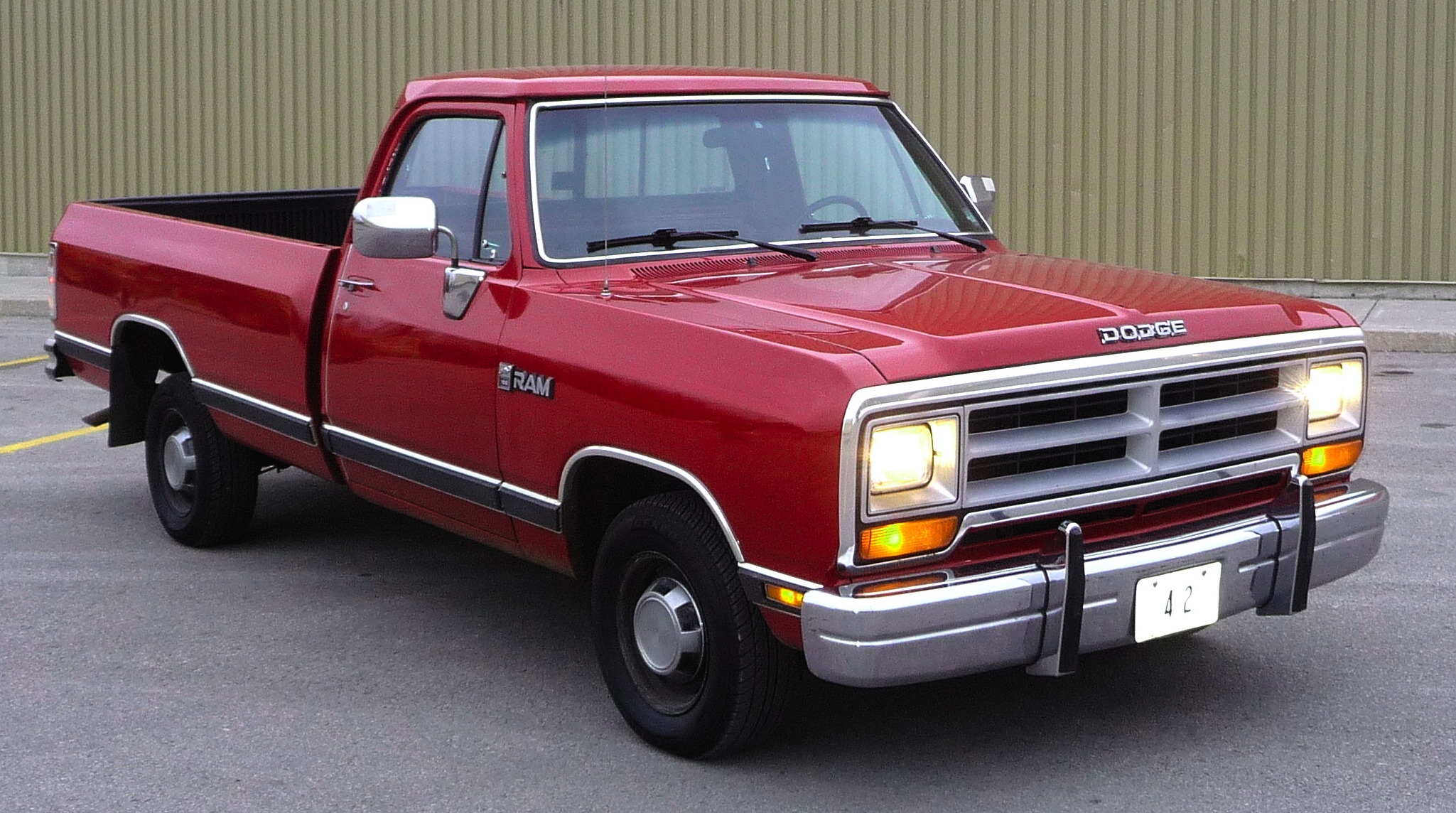 Dodge Ram Trucks >> A Brief History Of Ram Trucks The 1980s Miami Lakes Ram Blog