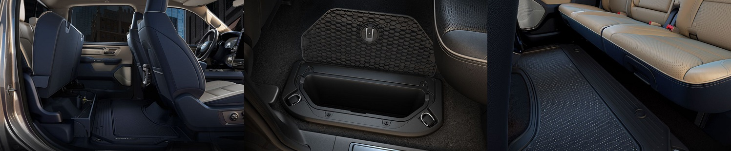 2019 Ram Storage Compartments And Even