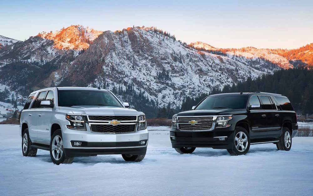 2016 Chevy Tahoe Silver And Black